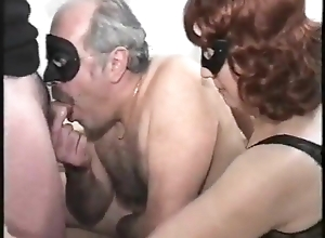 elderly couple not far from ambisextrous young male, mmmm, fruit