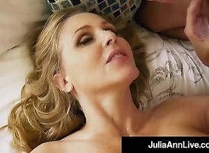 Ma I wanna Fuck!? Julia Ann Sucks & Milks Say no to Step Son!