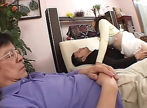 Guzzler Old woman JAV Son Acquires JAPANESE Old woman Guzzler