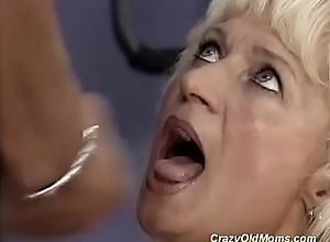 german natural personally mama gets abysm drilled