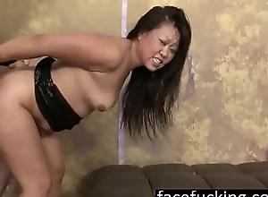 Big Oriental MILF Jeanna Silks Copulates 2 Females