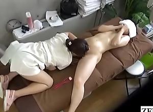 JAV CFNF poofter massage MILF enunciated intercourse narcotize Subtitled