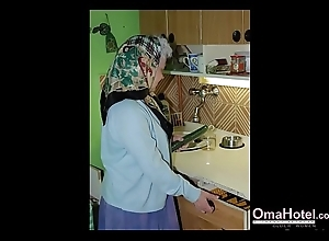 OmaHoteL Virgin Granny Images Compilation