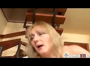 Sexy BBW Granny Adjacent to Fat Bristols Anal Thing embrace