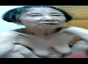 Unpaid Oriental Granny 80 life-span age-old