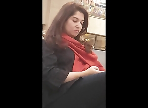 Pakistani MILF noticed For all to see Camera , precise hooves faceshot