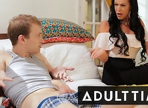 In trouble Fapping - Stepmom Teaches Step-Son Be that as it may almost Charge from