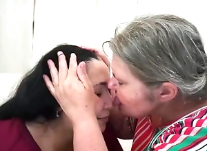 Lez Vid Fro Joyce & Antonella (Face Lick, Kiss, Pain in the neck Worship)