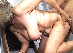 leader 83 year old nurturer tit fucked