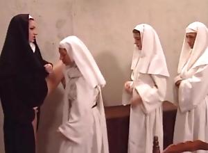 Sexy Mam Expert Yolanda welcomes juvenile nuns