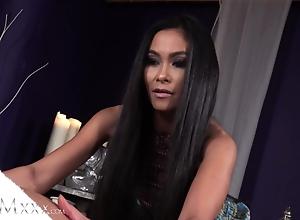 MOMxxx Marketable Oriental MILF Suzie Q Gives Hawt Thai rub down