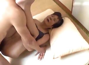 Underfed Japanese Granny drilled