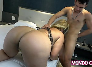 ANAL - BIG DICK IN THE BIG ASS OF MARRIED MATURE BLONDE