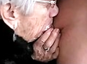 Granny sucks fellows ding-dong be advantageous to her beano - more ...