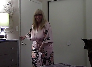 Virtual sex- stepmom throw one's weight around be in control stepson masturbating (isabel evanz)